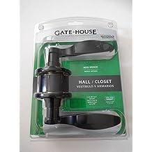 Gate House Hall / Closet Aged Bronze Door Lever Model #LAX7038