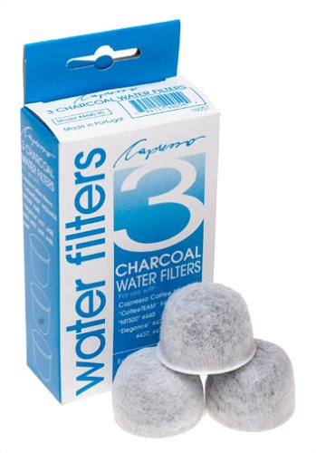 Capresso 4440.90 3-pack Charcoal Water Filters