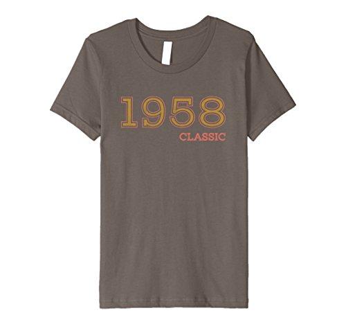 Halloween Costume Ideas For Two Guy Friends (Kids 59th Birthday Funny Tshirt, Vintage 1958 Shirt, Gift Idea 10 Asphalt)