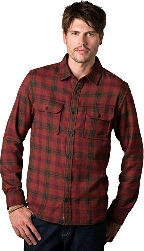 Toad&Co Watchdog Long Sleeve Shirt - Men's Brown Madder 2X-Large
