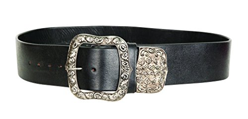 Pirate King Wide Leather Belt