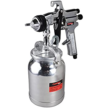 PowRyte Basic 32 Oz Siphon Feed Air Spray Gun - 1.8mm Nozzle