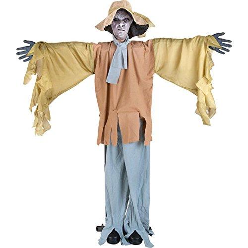 [Scary Standing Scarecrow Halloween Prop] (Halloween Scarecrow)