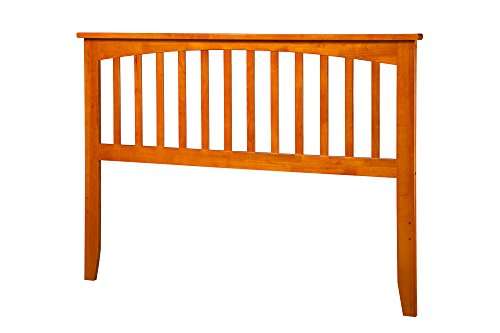 Mission Headboard, King, Caramel Latte by Atlantic Furniture