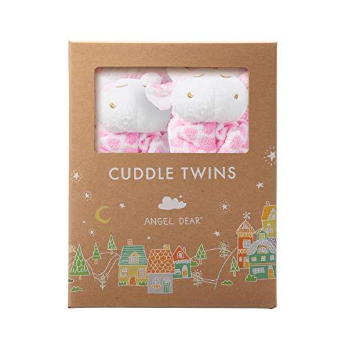 Angel Dear Cuddle Twin Set, Pink
