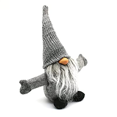 Handmade Swedish Tomte,Santa - Scandinavian Gnome Plush-Christmas Gift Birthday Present - Home Ornaments Christmas Decoration Table Decor