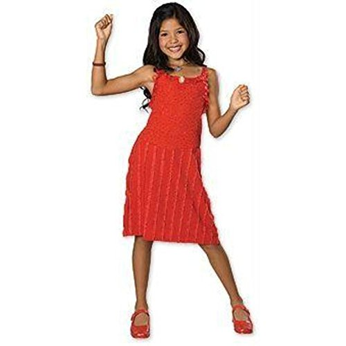 Gabriella Red Dress Child Small Disney HSM Costume