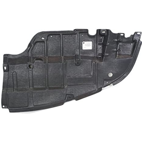 CarPartsDepot 429-44102-01 Driver Left Engine Splash Lower Under Cover Shield TO1228129
