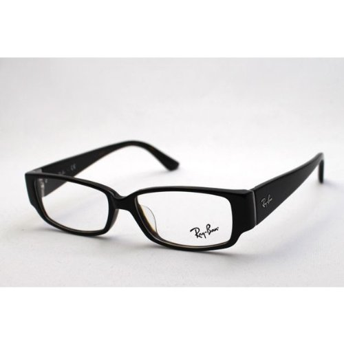 【レイバン正規商品販売店】 RayBan レイバン メガネ 伊達メガネ 眼鏡 ダテメガネ ジャパンモデル RX5250 B00FLK0B4E 5114|度なしクリアレンズ付き 5114 -