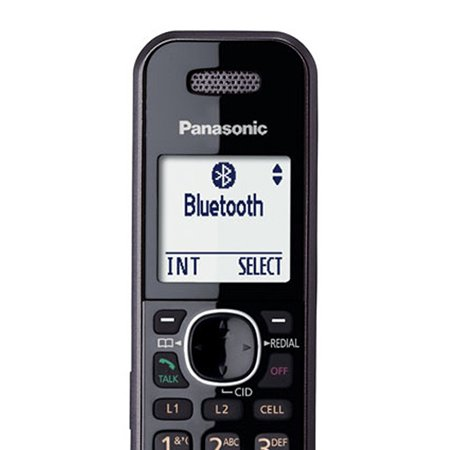 Panasonic KX-TG9552B + (4) KX-TGA950B Link2Cell Bluetooth Enabled 2-Line Phone with Answering Machine (6 Handset) by Panasonic (Image #3)
