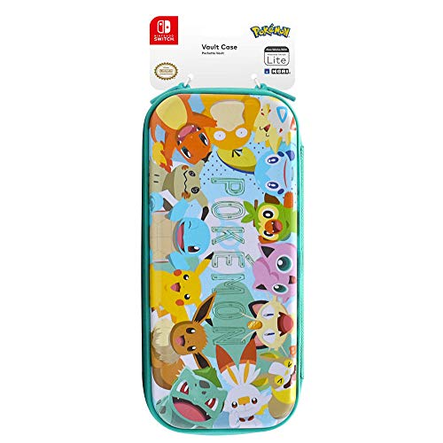 Hori Nintendo Switch Vault Case (Pokemon: Pikachu & Friends) By - Officially Licensed By Nintendo and the Pokemon Company International - Nintendo Switch