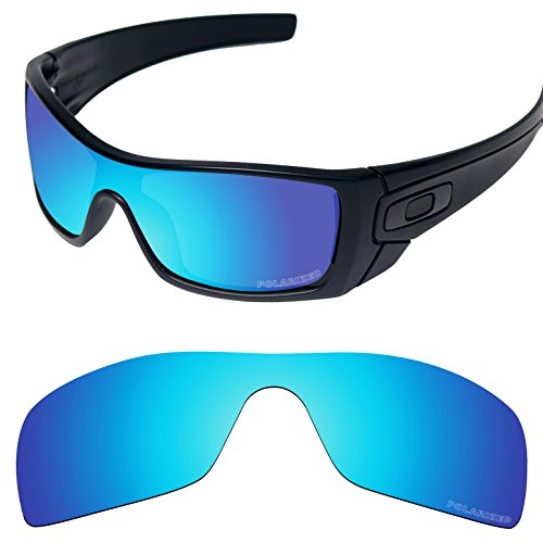 Tintart Performance Lenses Compatible with Oakley Batwolf Polarized Etched-Sky Blue (Lentes Oakley)