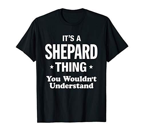 Shepard Staff Uniform Funny T-Shirt ()