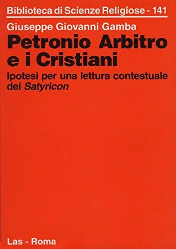 Petronio pdf satyricon