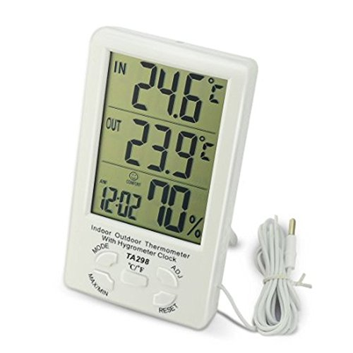 LingsFire Digital Thermometer Humidity Hygrometer