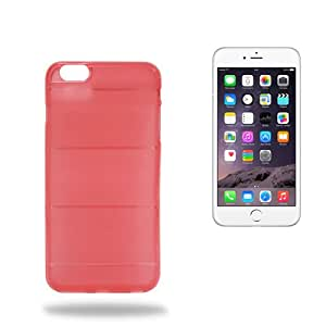 Funda TPU Design iPhone 6 (Rojo)