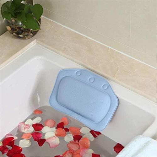 YQZQ バスタブ枕、ホットタブ、ジャグジー、ホームスパ用吸着パッド滑り止めスパ癒しのサポートクッションネックヘッド浴室枕