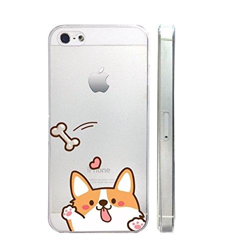 Corgi Transparent Iphone Emerishop VAE257 5C product image