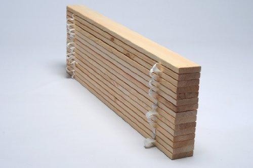 Somier enrollable   120x200 cm (con 15 trabas): Amazon.es: Hogar