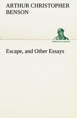 Escape, and Other Essays (TREDITION CLASSICS) pdf epub
