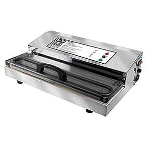 Weston Pro-2300 Commercial Grade Stainless Steel Vacuum Sealer (65-0201), Double Piston Pump