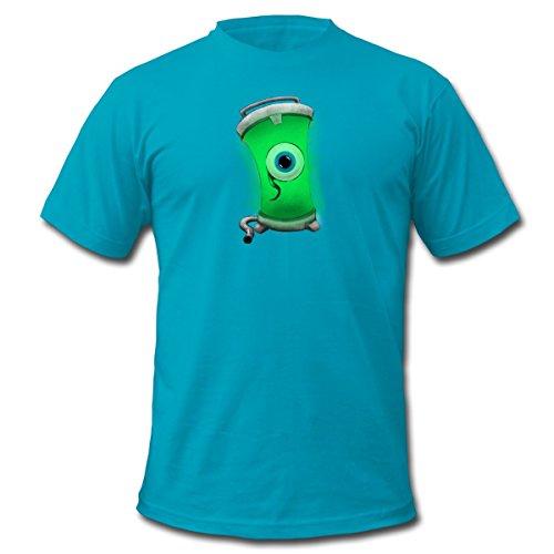 Spreadshirt Men's Jacksepticeye Tank Eyeball T-Shirt, turquoise, M