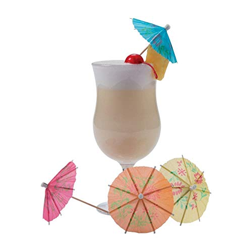 Fun Express Paper Cocktail Drink Parasols - 144 Pieces
