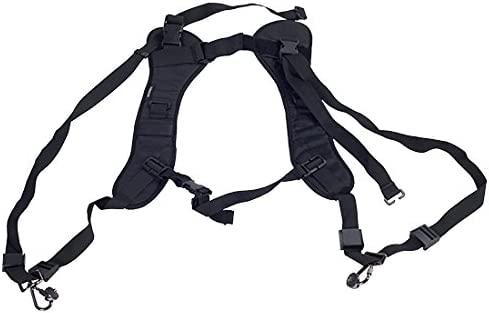 Tome doble cámara del hombro la correa del pecho del arnés anti ...