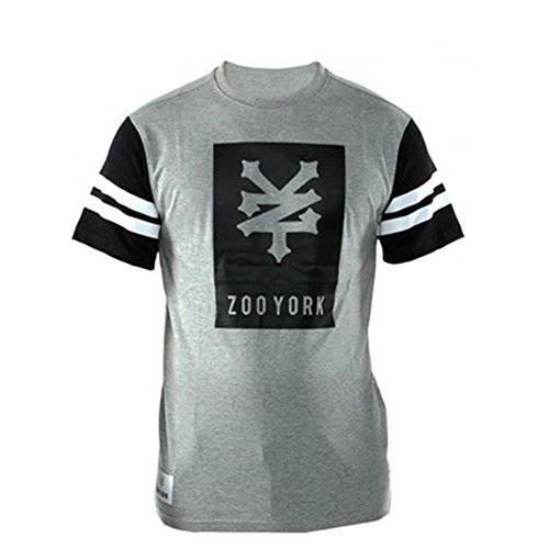 Zoo York Herren T-Shirt grau Grau - Athletic Grey