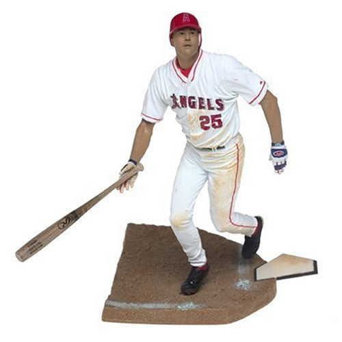 MLB Series 7 Figure: Troy Glaus in White Anaheim Angels Jersey