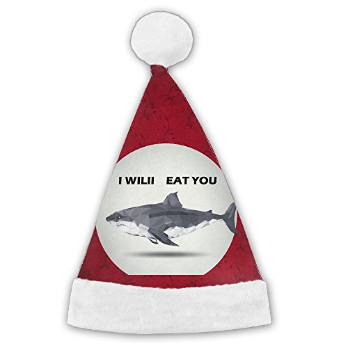 Felt Shark Hat (Shark Christmas Theme Hats - Elf Hat - Coil Hat - Santa Hat)