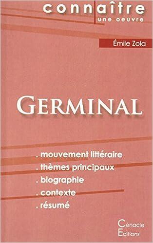 fiche de lecture germinal analyse littéraire de référence et résumé