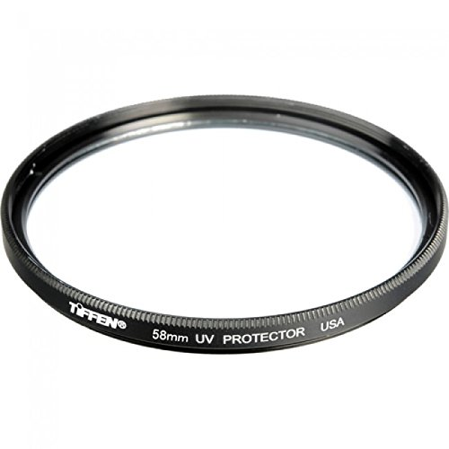 Digital Camera Lens Protector - Tiffen 58mm UV Protection Filter