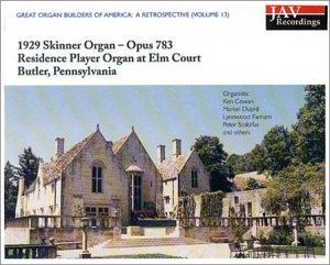 1929 Skinner Organ - Opus 783 - Residence Player Pipe Organ at Elm Court - Butler, PA