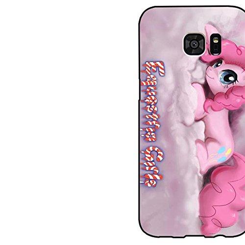 Samsung Galaxy S7 Edge TV Cartoon Cell Cover Cute Pink Pinkie Pie My Little Pony Phone hülle Handyhülle Cover for Samsung Galaxy S7 Edge,Telefonkasten SchutzHülle