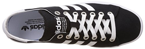 Adidas Originals Court Vantage, Multicolore - Multicolore (Cblack/Ftwwht/Metsil), 39 1/3