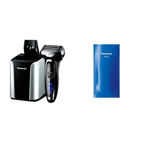 (Panasonic Arc5 Electric Razor ES-LV95-S with Automatic Cleaning Solution Included)
