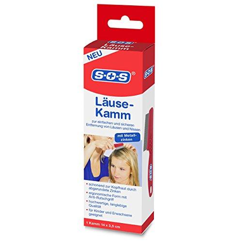 SOS Läuse Kamm- Zur Entfernung von Nissen und Läusen
