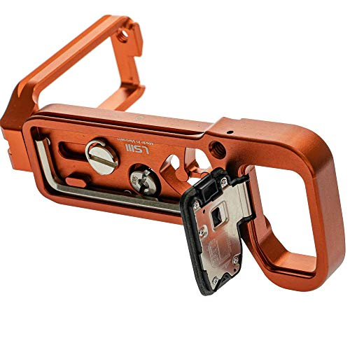 2019 Version Stabil LSIII - L Plate Quick Release Plate for Sony A7RIII; A7III & A9 : Orange Color by Stabil (Image #2)