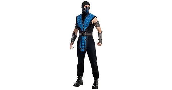 Mortal Kombat X Sub-cero escorpión camiseta del traje de Cosplay hombe mujer