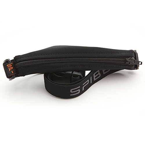 "SPIbelt Large Pocket (Black with Black Zipper, 25"" Through 47"")"