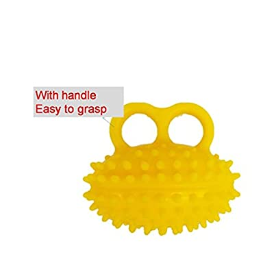 Sponge Hand Gripper Elderly Exercise Hand Grip Wrist Force Gripping Ball Finger Strength Rehabilitation Trarining Equipment