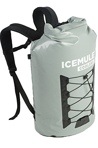IceMule Pro Insulated Backpack Cooler Bag - Hands-Free, Highly-Portable, Collapsible, Waterproof and Soft-Sided Cooler Backpack for Hiking, The Beach, Picnics, Camping, Fishing - 33 Liters, 30 ()