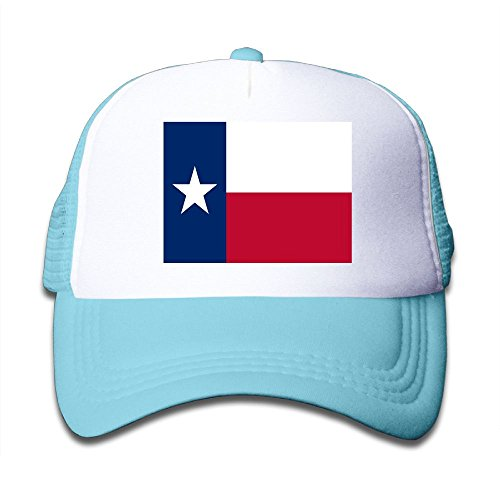 discount Futong Huaxia Flag Of Texas Boy & Girl Grid Baseball Caps Adjustable sunshade Hat For Children on sale