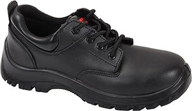 Shoes Steel Toe Work Boot SF32 Black
