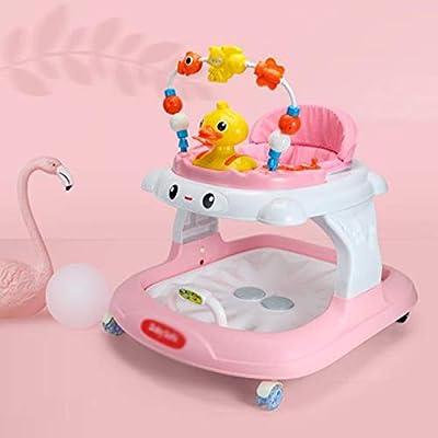 LMSTC Andador para bebés, función antivuelco multifunción de 8 a ...