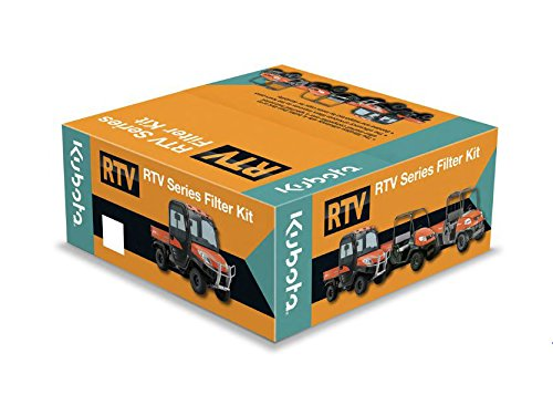 - Filter Kit for Kubota RTVX1100C & RTVX1120D Utility Vehicles