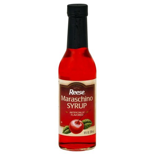 (Reese Maraschino Syrup 8 Oz (Pack of 3))