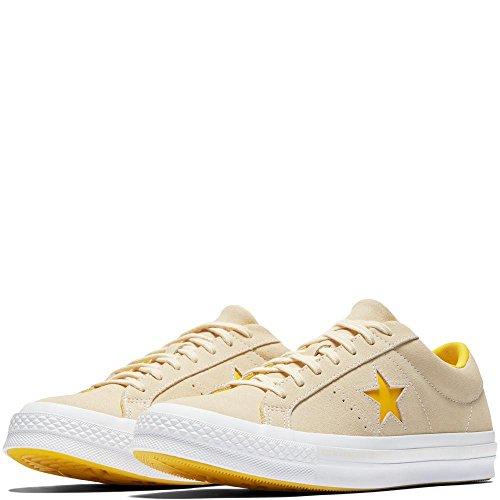 Beige Remise Star Blanc De Solaire Adultes Converse En Chaussures vanille Pour Ox 740 Forme nergie Cuir Unisexe One x7wAxqYE