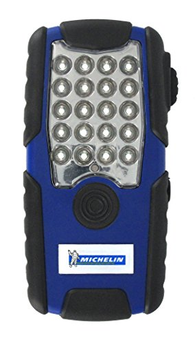 Dos Aimant/é et 2 Crochets de Suspension M34L13 Michelin Lampe Torche Cob Rechargeable
